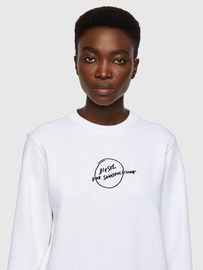 Diesel - F-ANGS-B1, White - Sweaters - Image 3