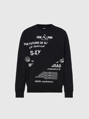 S-GIRK-FOLDED, Black - Sweaters