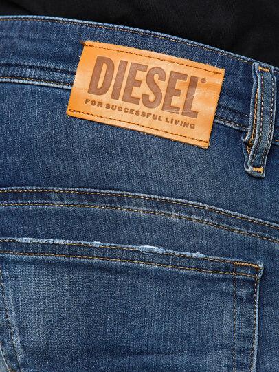 Diesel - Thommer JoggJeans 069PL, Dark Blue - Jeans - Image 4