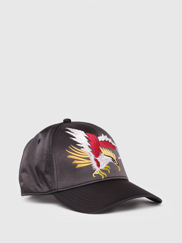 CEMBRI, Bright Black - Caps, Hats and Gloves