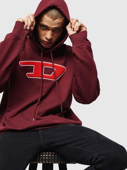 Diesel - S-DIVISION-D, Bordeaux - Sweaters - Image 4
