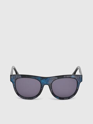 DM0160, Black/Blue - Sunglasses