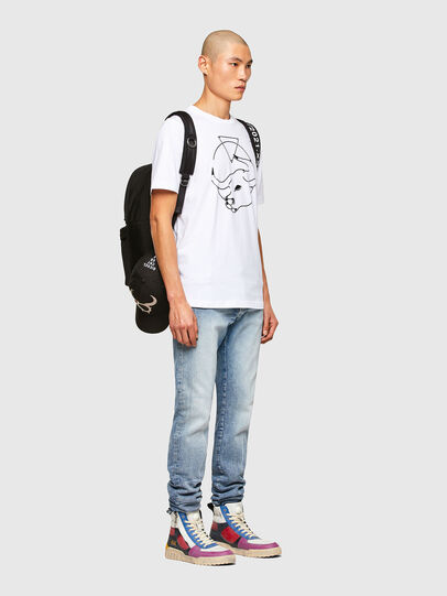 Diesel - CL-T-JUST-O, White - T-Shirts - Image 7