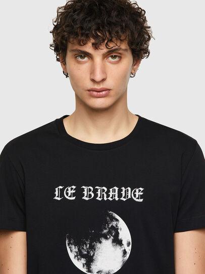 Diesel - T-INY-B1, Black - T-Shirts - Image 3