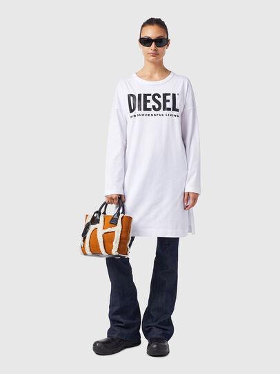 Diesel - D-WALKY-ECOLOGO, White - Dresses - Image 1