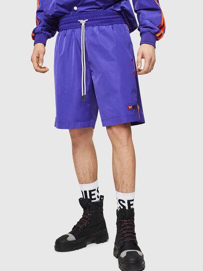 Diesel - P-BOXIE, Violet - Shorts - Image 1