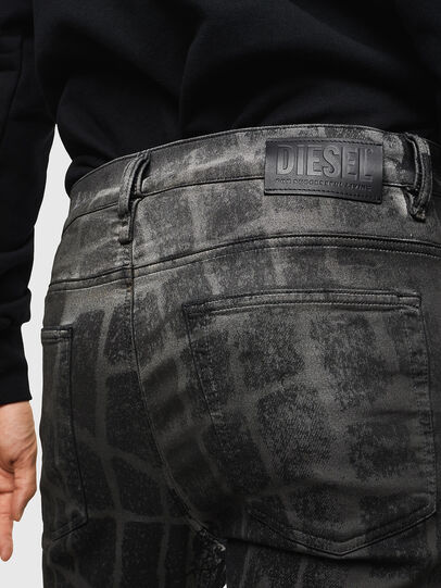Diesel - D-Reeft JoggJeans 0094M, Black/Dark grey - Jeans - Image 5