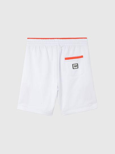 Diesel - UMLB-PAN-SP, White/Orange - Pants - Image 2