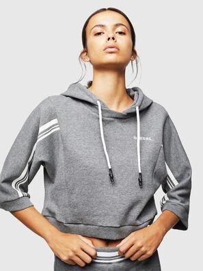 UFLT-VERTIX-CROP, Grey - Sweaters