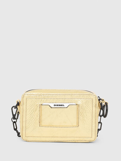 Diesel - ROSA' PCHAIN, Gold - Crossbody Bags - Image 2