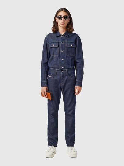 Diesel - D-Viker 09B28, Dark Blue - Jeans - Image 4