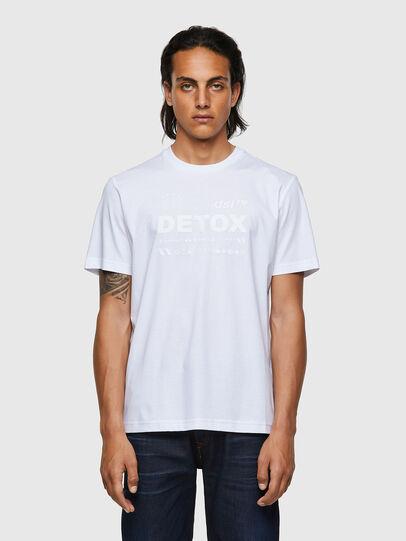 Diesel - T-JUST-B63, White - T-Shirts - Image 1