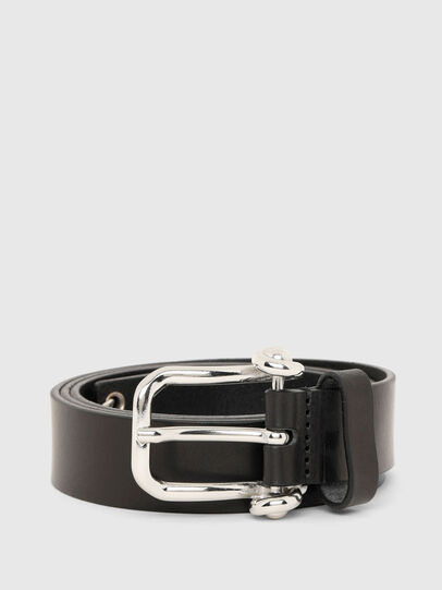 Diesel - B-PIRSIN, Black - Belts - Image 1