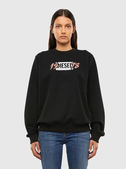 Diesel - F-ANG-K12, Black - Sweaters - Image 1