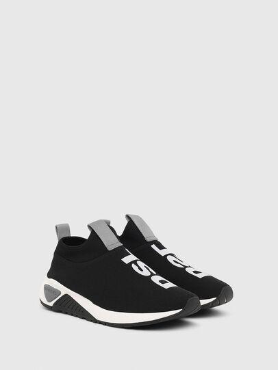 Diesel - S-KB SL II, Black/Grey - Sneakers - Image 2