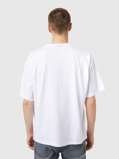 Diesel - T-BALM, White - T-Shirts - Image 2