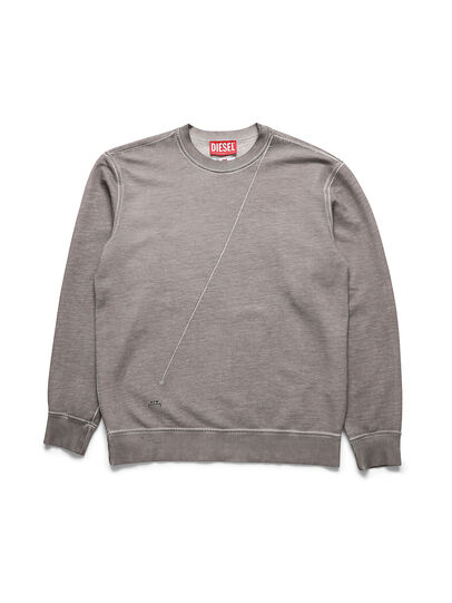 Diesel - ACW-SW01, Grey - Sweaters - Image 1
