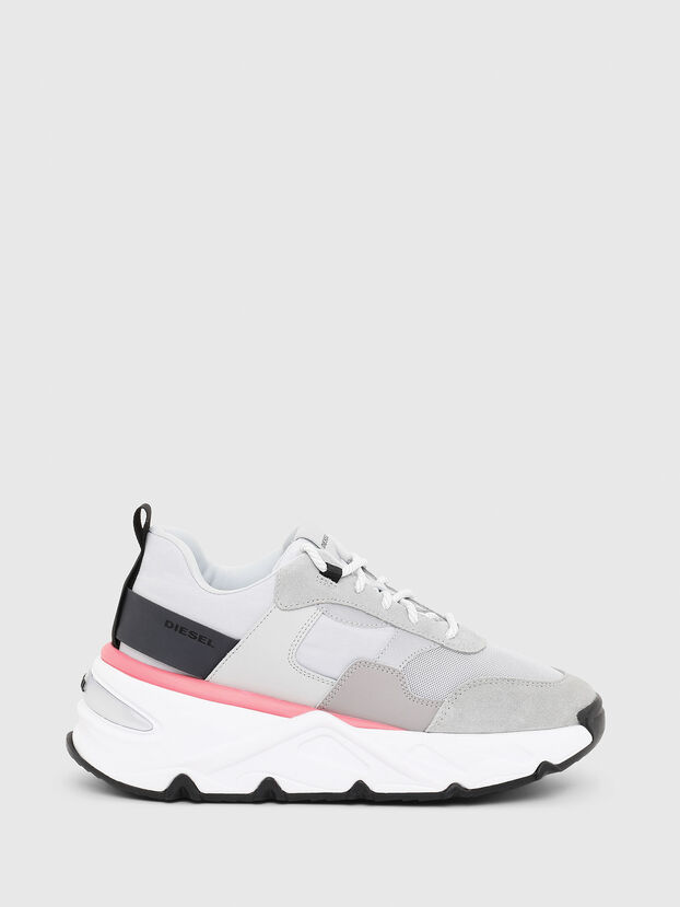 S-HERBY LOW, Grey - Sneakers
