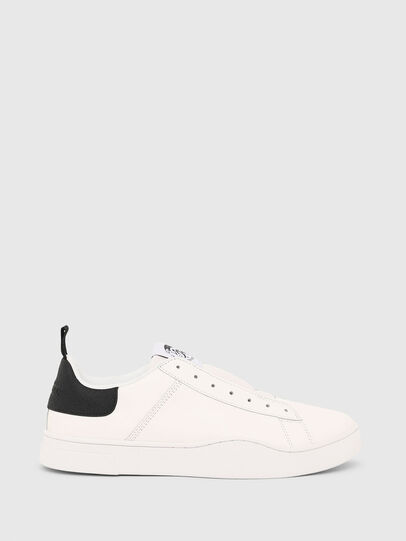 Diesel - S-CLEVER SO, White/Black - Sneakers - Image 1