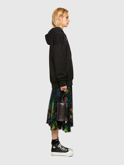 Diesel - O-SHEER, Black - Skirts - Image 6
