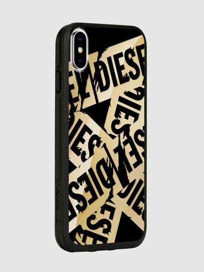 Diesel - MULTI TAPE GOLD/BLACK IPHONE X CASE,  - Cases - Image 6