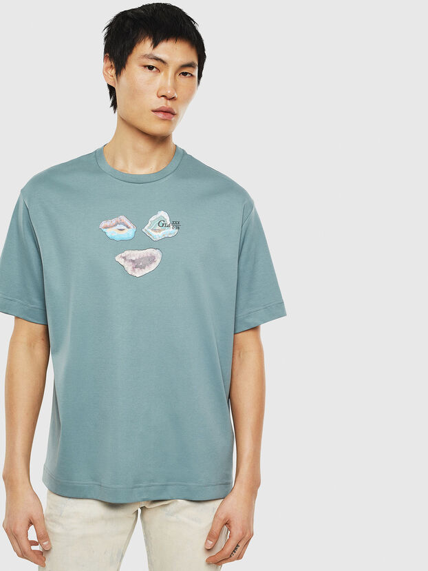 TEORIALE-A, Water Green - T-Shirts