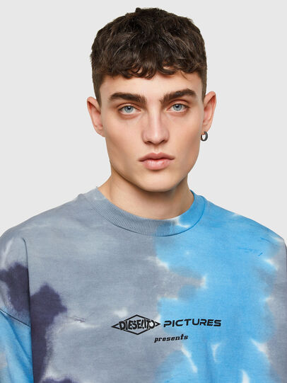 Diesel - S-MART-E4, Grey/Blue - Sweaters - Image 3