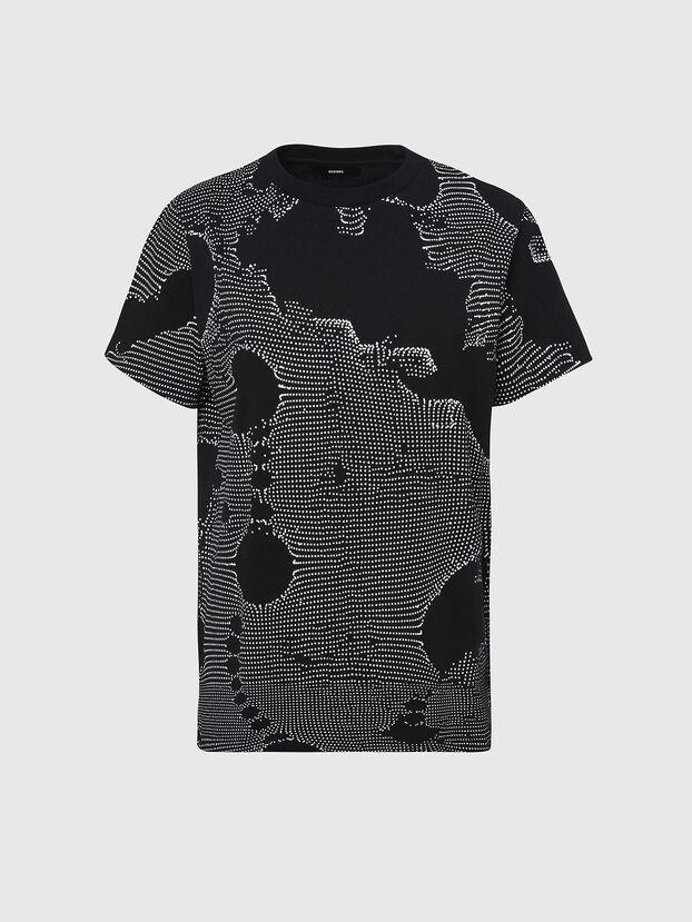 T-DARIA-E4, Black - T-Shirts