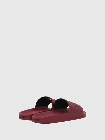 Diesel - SA-VALLA, Bordeaux - Slippers - Image 3