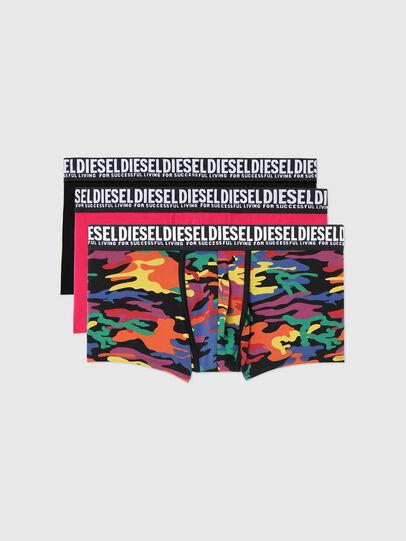 Diesel - UMBX-DAMIENTHREEPACK, Black/Pink - Trunks - Image 1