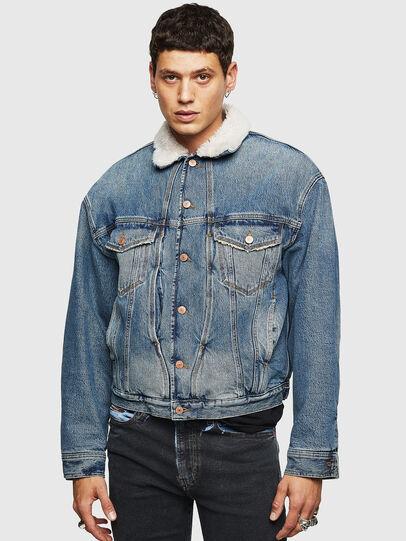 Diesel - D-RESKY, Medium blue - Winter Jackets - Image 1