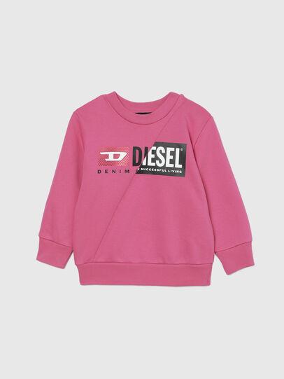 Diesel - SGIRKCUTYB-FL-R, Pink - Sweaters - Image 1