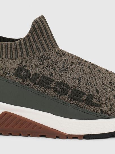 Diesel - S-KB SOCK QB, Olive Green - Sneakers - Image 4