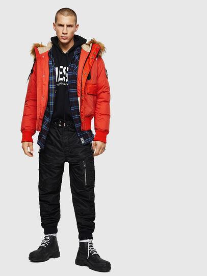 Diesel - W-BURKISK, Orange - Winter Jackets - Image 8