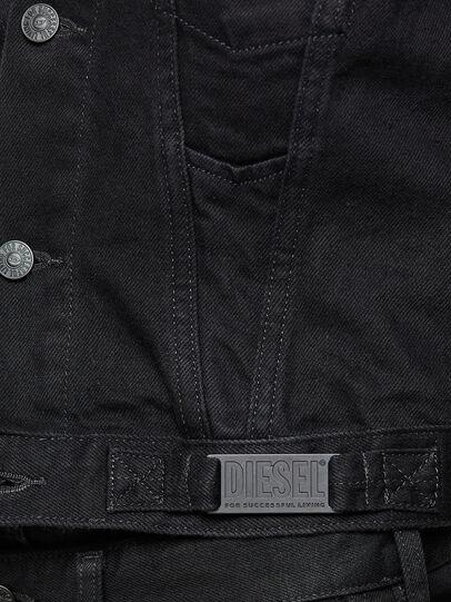 Diesel - DE-LIMMY, Black - Denim Jackets - Image 4