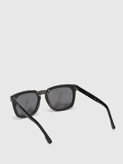 Diesel - DL0212, Military Green - Sunglasses - Image 2