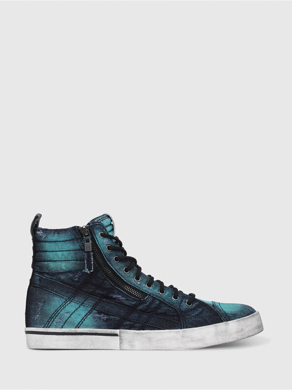 D-VELOWS MID LACE, Turquoise - Sneakers