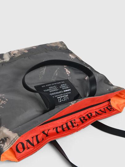 Diesel - VIVYAN, Grey/Orange - Shopping and Shoulder Bags - Image 5
