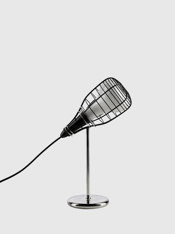 CAGE MIC NERO,  - Table Lighting