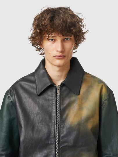 Diesel - L-COOPER-NEW, Black - Leather jackets - Image 3