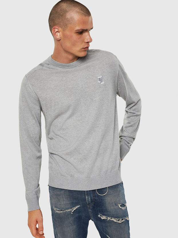 K-JOEY, Light Grey - Knitwear