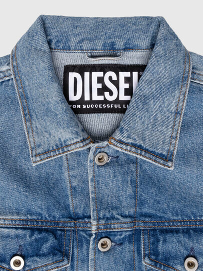 Diesel - US-NHILL-POP1, Medium blue - Denim Jackets - Image 5