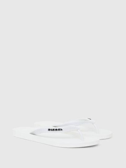 Diesel - SA-KAUAY W, White - Slippers - Image 2