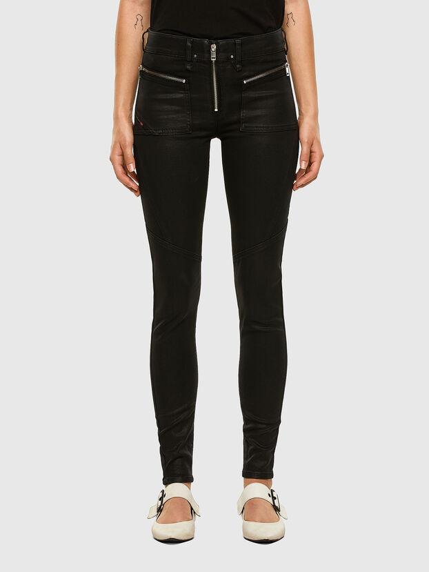 Slandy 069JT, Black/Dark grey - Jeans