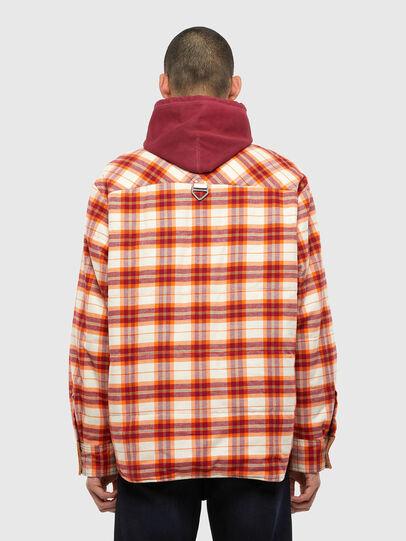 Diesel - J-TANIFER, Red/White - Jackets - Image 2