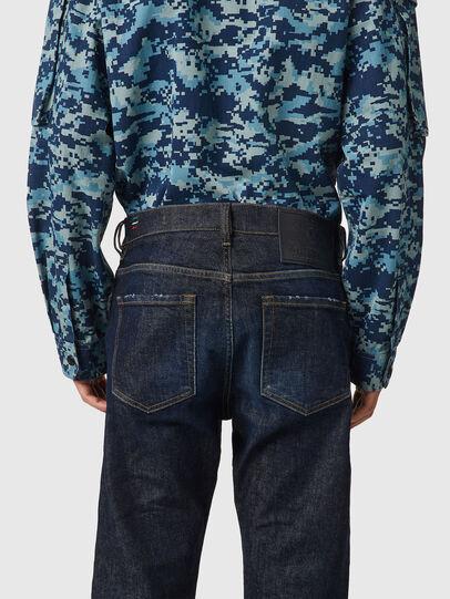 Diesel - D-Viker 09B45, Dark Blue - Jeans - Image 4