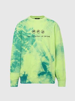S-BIAY-X10, Green/Yellow - Sweaters