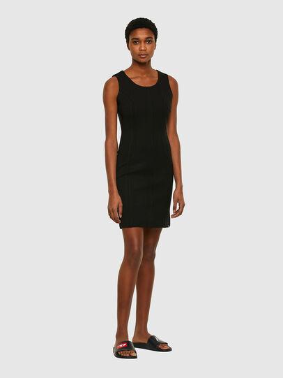 Diesel - D-HEVA, Black - Dresses - Image 1