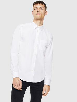 S-BILL-POCKET, White - Shirts