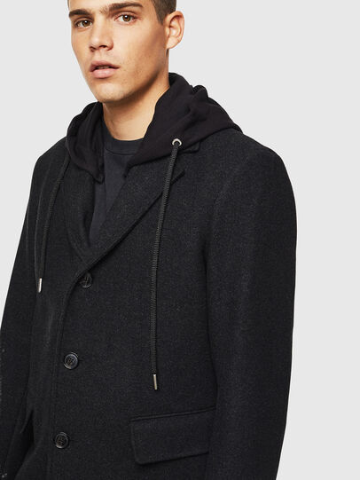 Diesel - W-DEXTY, Dark grey - Winter Jackets - Image 3